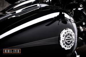 Rebel-Eyes Motorfiets fotografie door David Noels